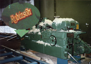 Robinson WX/T 9x4; installed and running in Estonia - J. Priestley & Son Woodworking Machinery